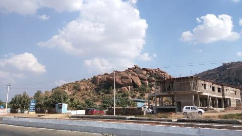 First Sight of Boulders near Koppal