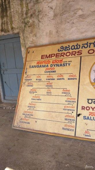 Dynasties that ruled the Vijayanagara
