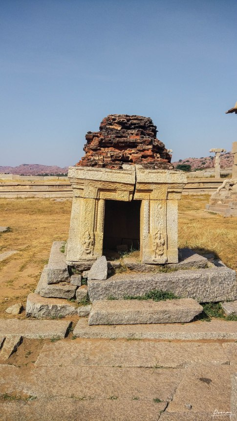 This structure was on top of the Stone Chariot once