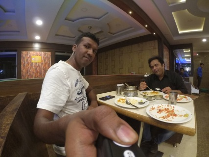 Dinner with Dilip