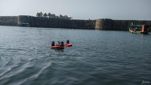 Scuba Diving Near SIndhudurg Fort